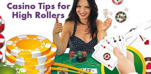 high roller casinos tips