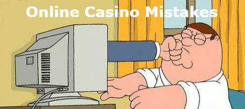 mistakes at real money Canadian casino